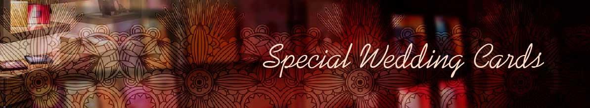 Special Wedding Cards