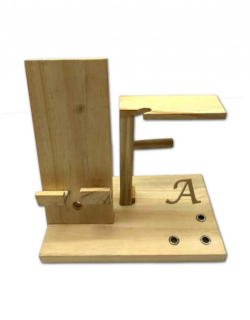 Hastkari Personalized Wooden Multi Utility Desk Organizer with Mobile Charging Dock Station with Pen Stand.