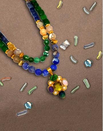Handmade Designer Beaded Necklace
